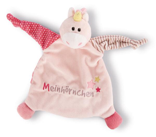 """Schmusetuch Einhorn Stupsi """"Meinhörnchen"""""""