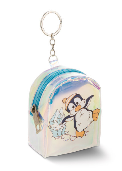 Mini-Schlüsselanhängertäschchen Pinguin