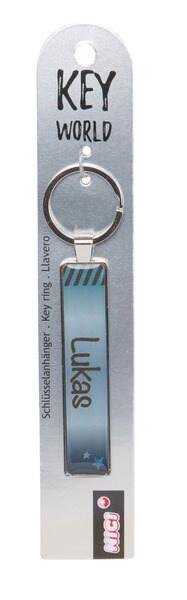 Schlüsselanhänger Key World 'Lukas'