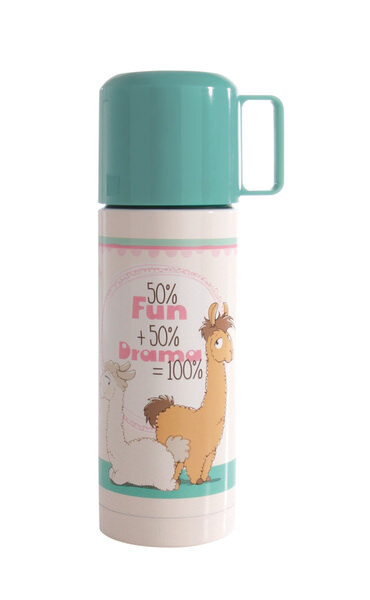 Thermosflasche Lamas