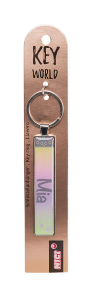 Keyring Key World 'Mia'