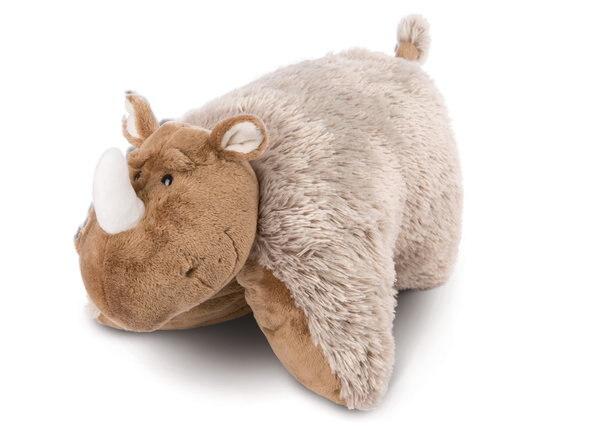 Cuddly toy cushion Wooly-Rhino Ellinor
