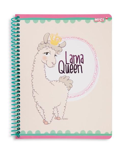 """Sprialblock Lama """"Lama Queen"""""""