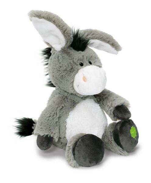 Kuscheltier Esel