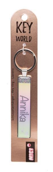 Keyring Key World 'Annika'