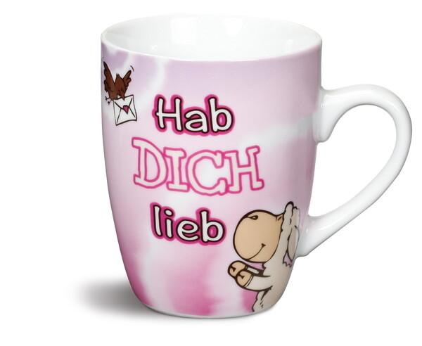 """NICI Fancy Mug """"Hab dich lieb!"""""""