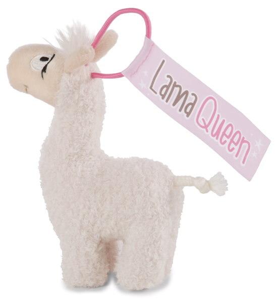 Pendant llama Lady with elastic loop
