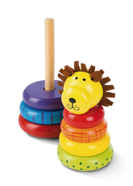 Stacking Toy Lion