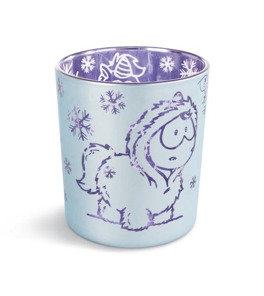 Tealight holderTheodor and Friends unicorn Snow Coldson