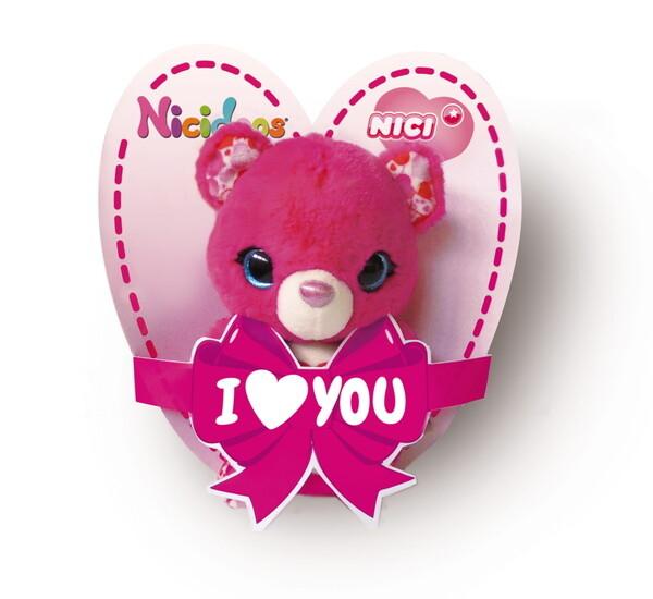 Anhänger NICIdoos Bär mit elastischer Schlaufe