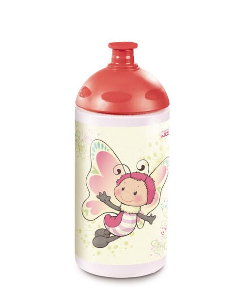 Trinkflasche Esel und Schmetterling