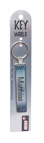 Keyring Key World 'Matthias'