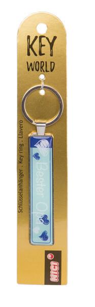 Schlüsselanhänger Key World 'Bester Opa'