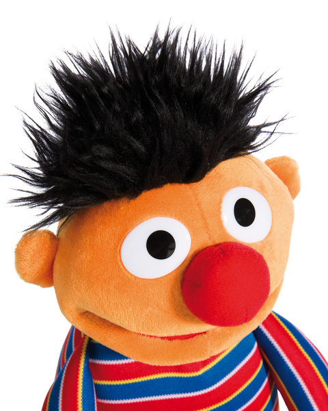 Plush doll Ernie
