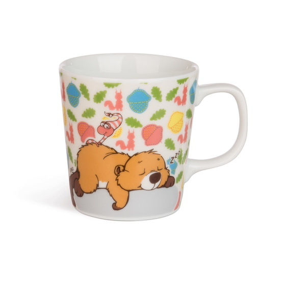 Porcelain mug beaver Willi Woodfeller