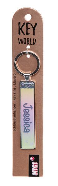 Keyring Key World 'Jessica'