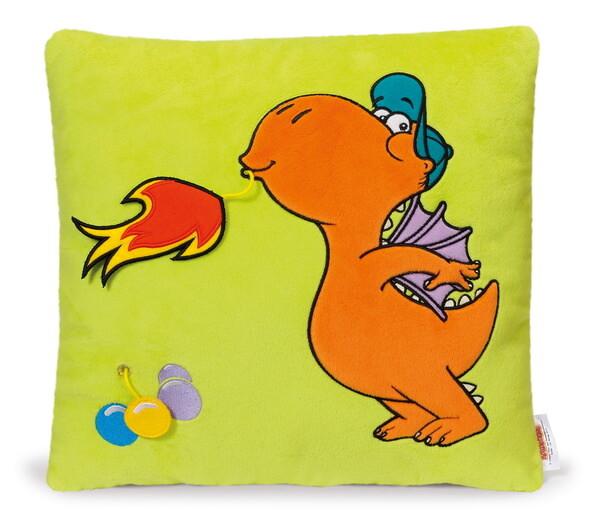 Square plush cushion Little Dragon Coconut