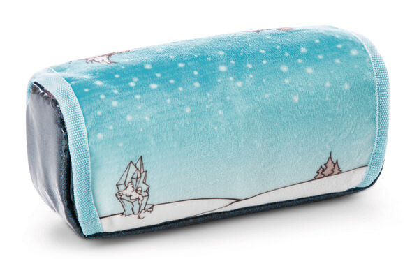 pencil case for rolling penguin Peppi and owl Aurina