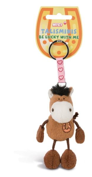 Schlüsselanhänger Pferd braun