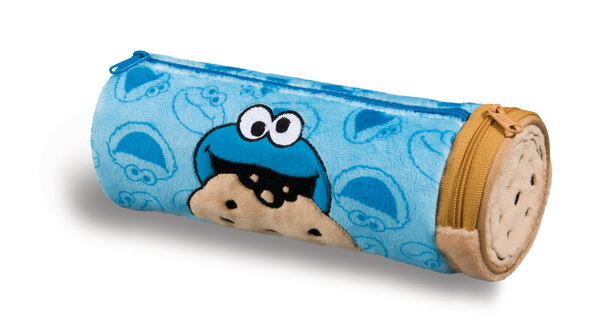Pencil pouch Sesame Street with Cookie Monster