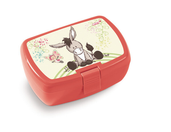 Lunch box donkey and butterfly