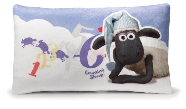 Kissen Shaun das Schaf mit Schlafmütze