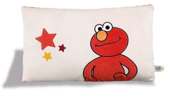 Rectangular cushion Sesame Street with monster Elmo