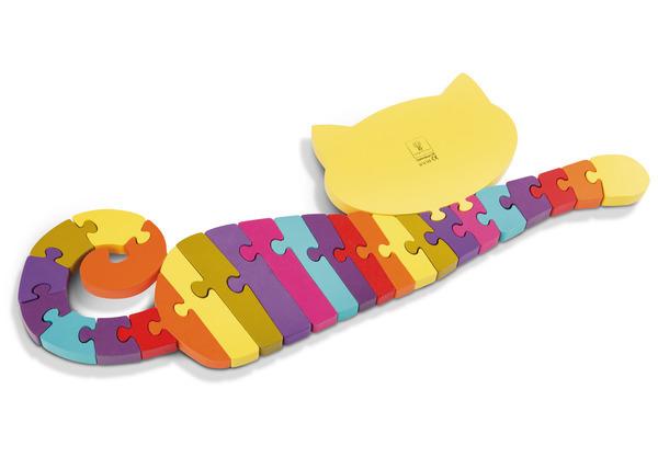 ABC Puzzle Katze