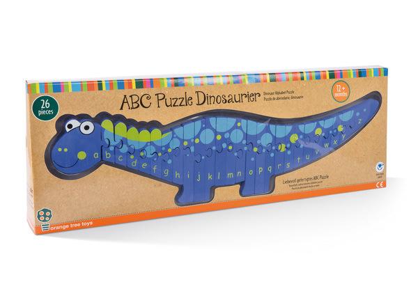ABC Puzzle Dinosaurier