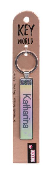 Keyring Key World 'Katharina'