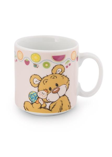 Children's mug bear and snail Classic Bear in gift box