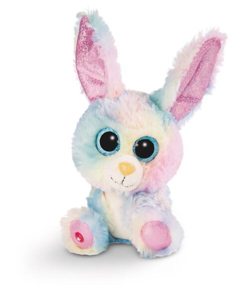 GLUBSCHIS Kuscheltier Hase Rainbow Candy