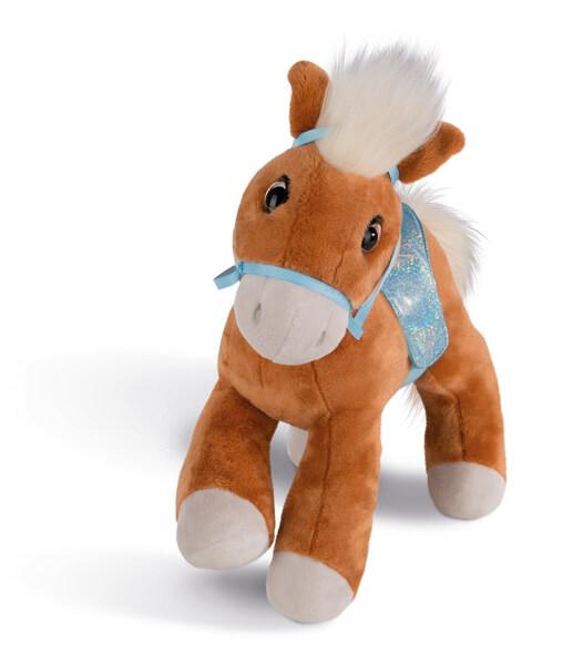 Kuscheltier Pferd Leotie mit Zaumzeug und Sattel