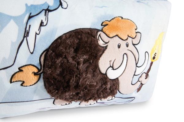 Rechteckiges Kissen Mammut