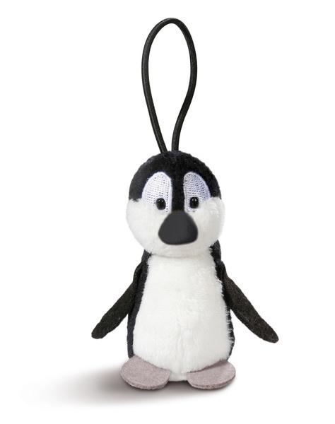 Pendant penguin with elastic loop