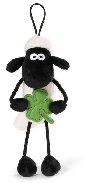 Anhänger Shaun das Schaf mit Kleeblatt