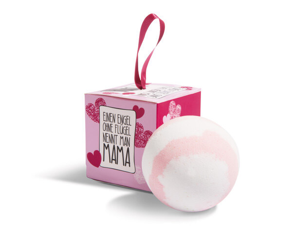 """Bath ball """"Mama"""" with gift packaging in display"""