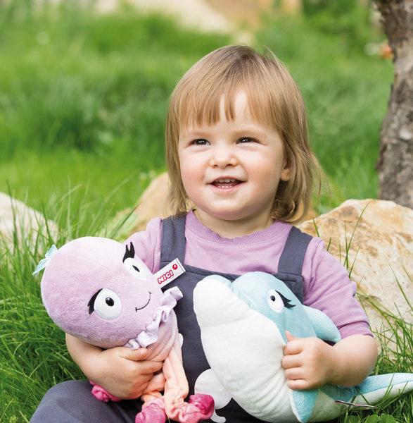 Lying Cuddly Toy Dolphin Del-Finchen