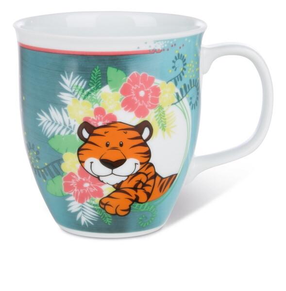 Porzellantasse Tiger Balikou