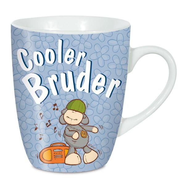 """Porzellantasse """"Cooler Bruder"""""""