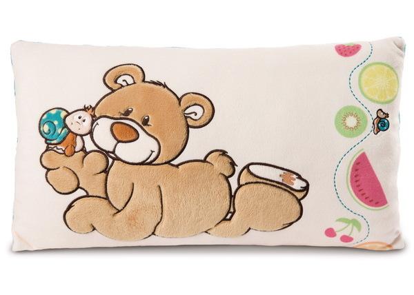 Rechteckiges Kissen Bär und Schnecke Classic Bear