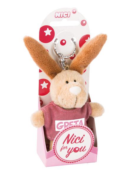 Schlüsselanhänger Hase Greta
