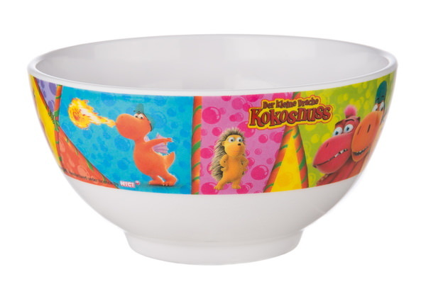 Melamine breakfast set Little Dragon Coconut with cereal bowl and mug