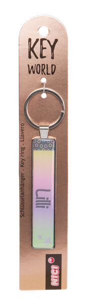 Keyring Key World 'Lilli'
