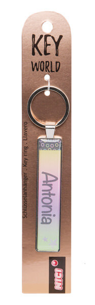 Keyring Key World 'Antonia'