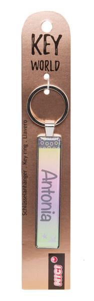 Schlüsselanhänger Key World 'Antonia'