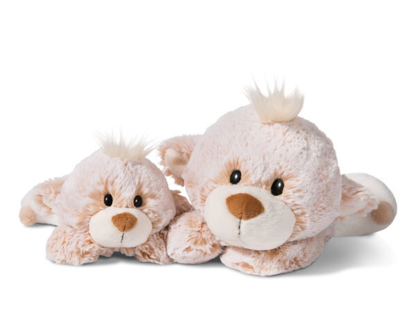 Lying cuddly toy Baby-Bear