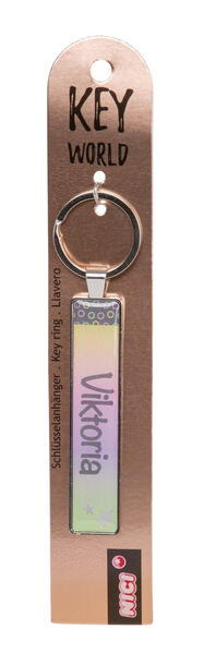 Schlüsselanhänger Key World 'Viktoria'