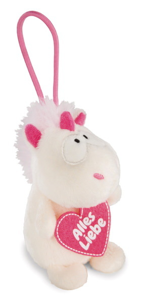 "Pendant unicorn Theodor ""Alles Liebe"""