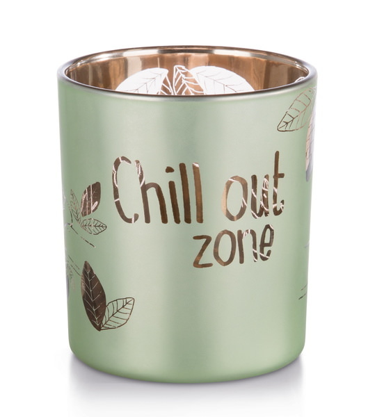 "Kerzenglas Faultier ""Chill out zone"""